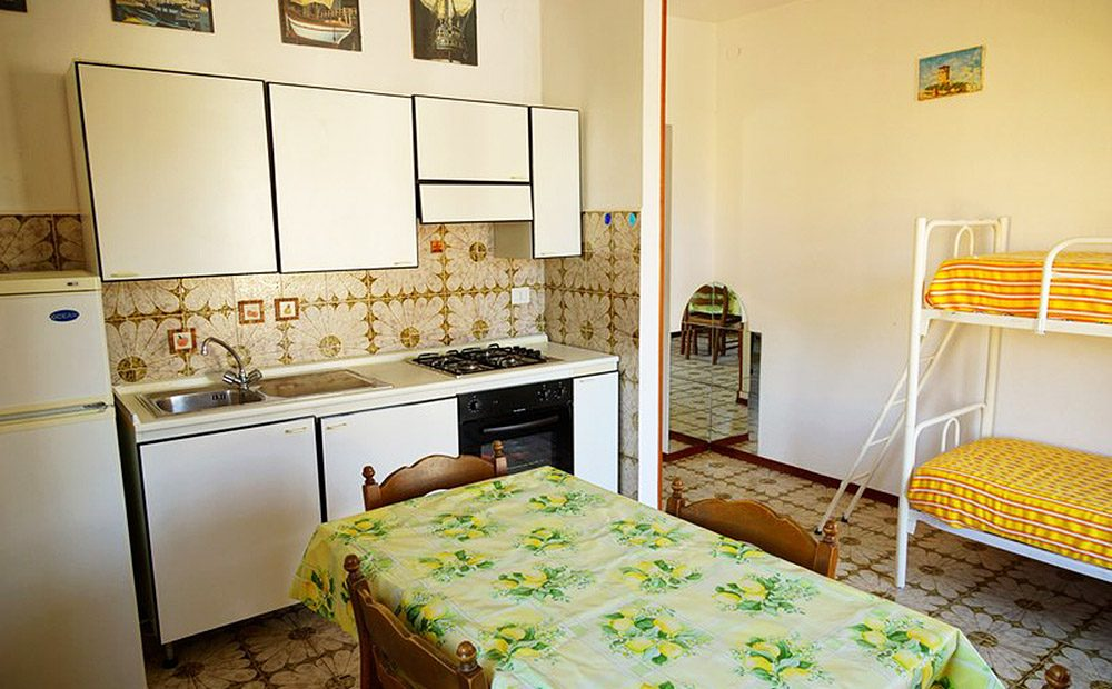 appartamento-mario-03-cucina-sala-pranzo - Giglio Vacanze