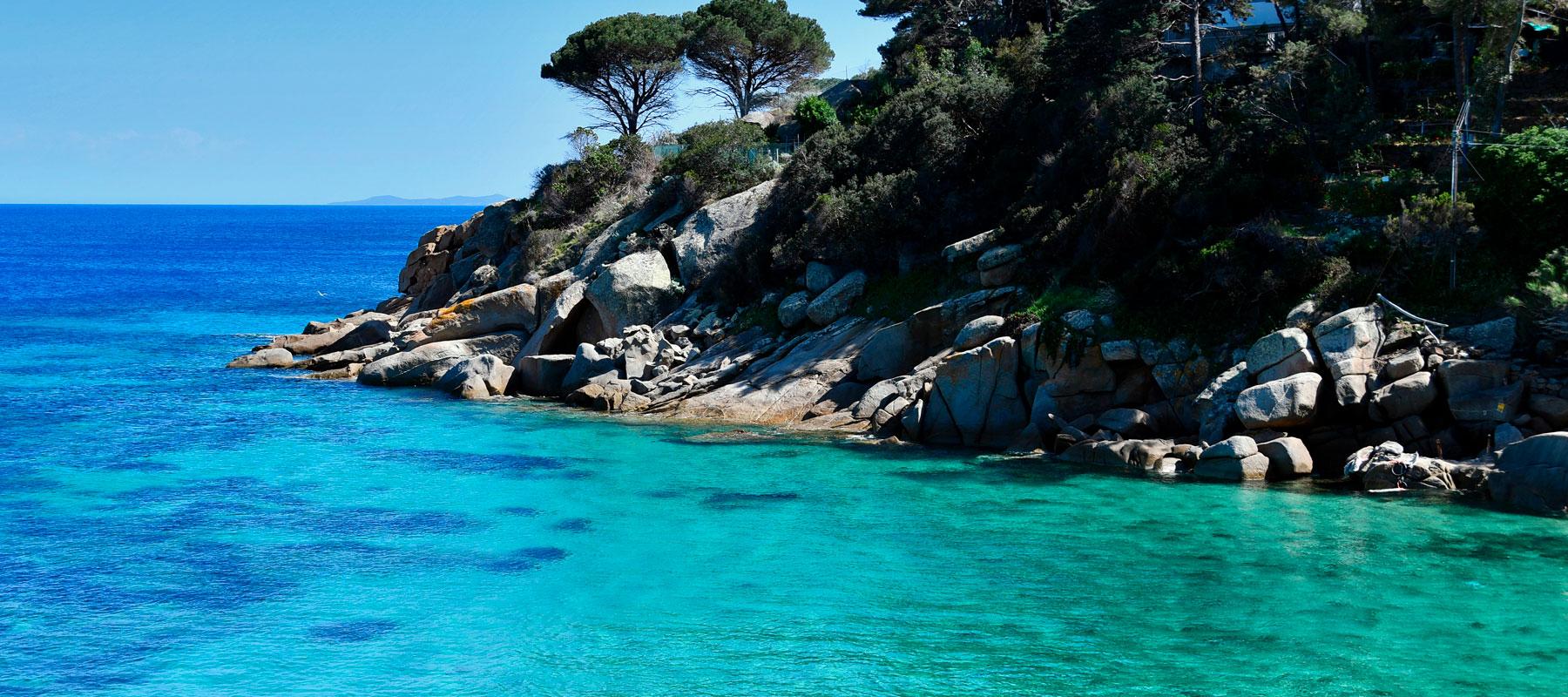 acqua limpida isola del Giglio