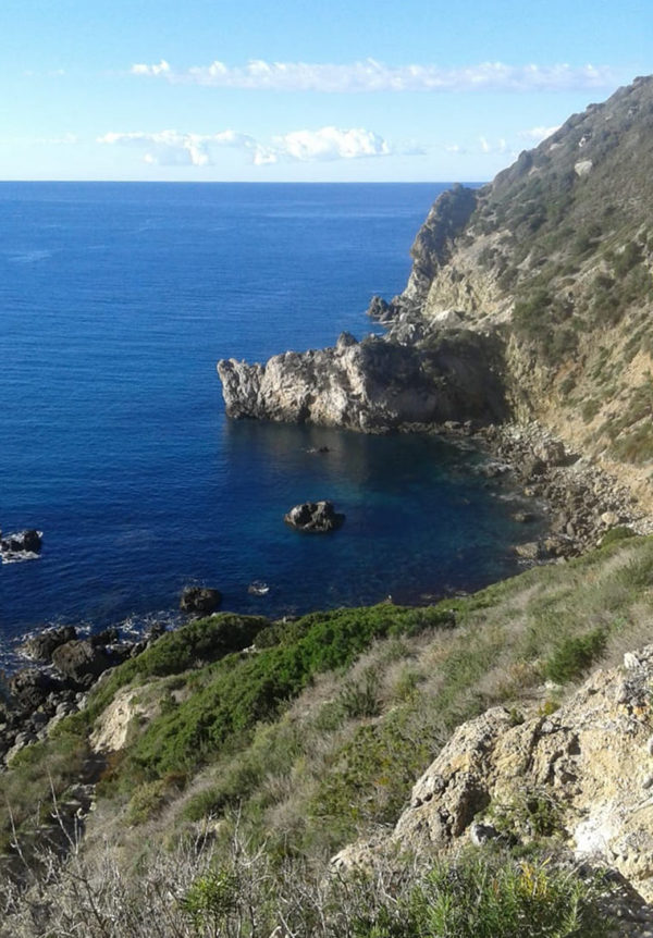 Vista dal sentiero Sparavieri
